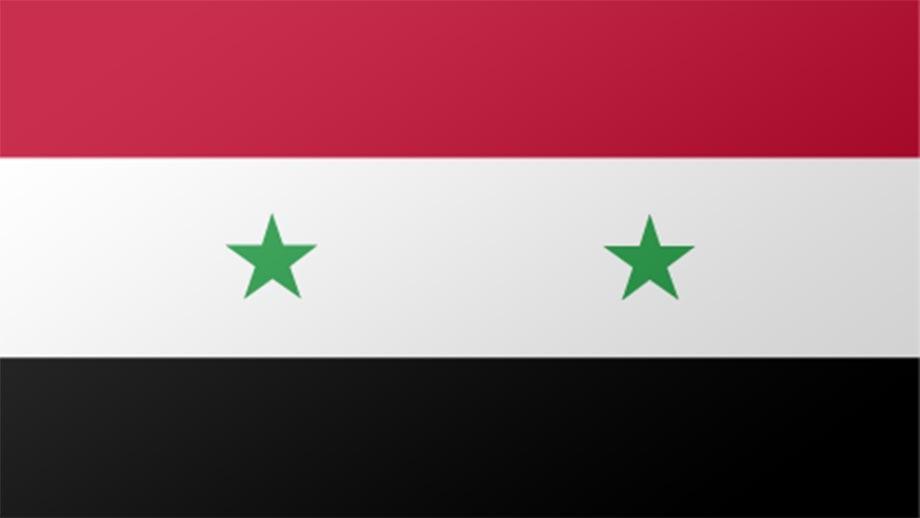 Syria flag. Image by Steve Conover on flickr.