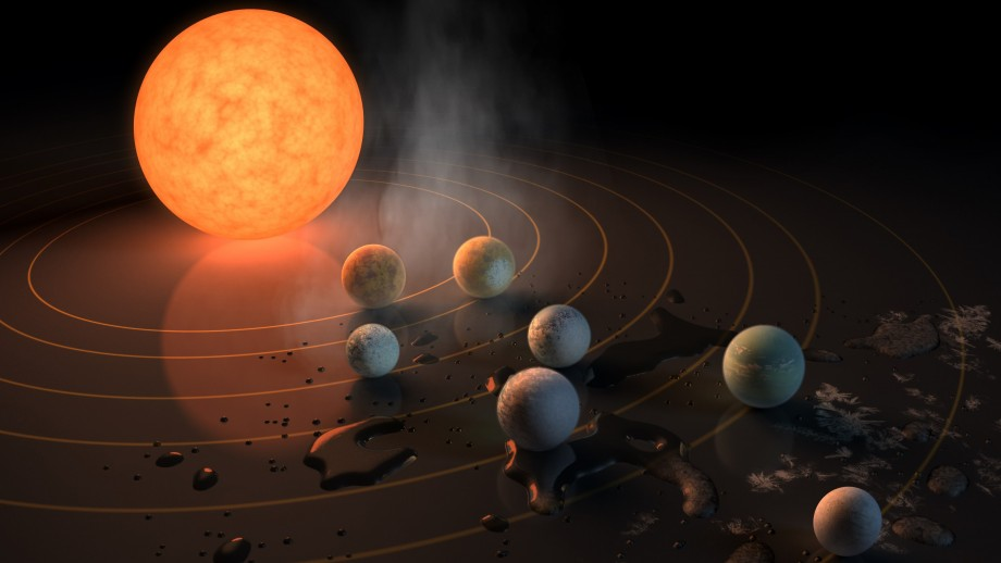 System of seven Earth-like planets could support life
