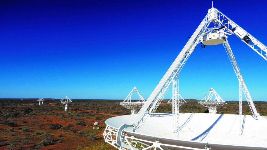The Australian Square Kilometre Array Pathfinder. Image credit: CSIRO