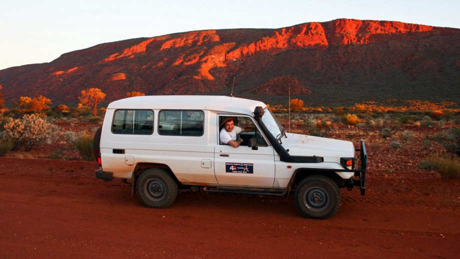 Hrvoje Tkalcic on a field trip in Western Australia. Image Hrvoje Tkalcic