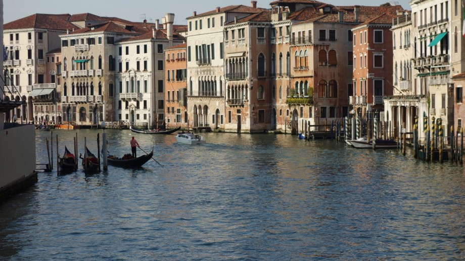 The historic canals of Venice.