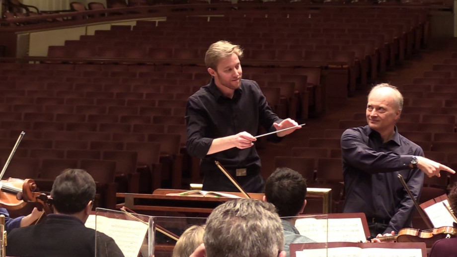 Leonard Weiss BMus '14: Masterclass with Maestro Noseda and the NSO at the Kennedy Center