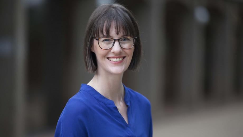 Dr Amy King is the ANU recipient of the 2017 Westpac Fellowship. Photo: Stuart Hay, ANU.
