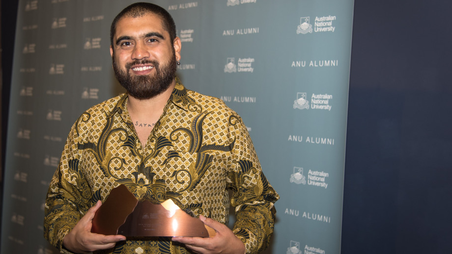 2018 Young Alumnus of the Year Omar Musa