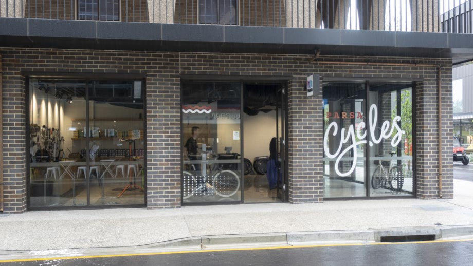 PARSA Cycles is in Joplin Lane on the corner opposite the supermarket. Photo by Simon Jenkins, ANU.