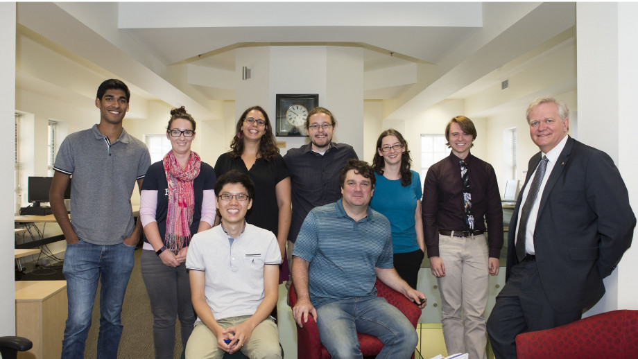 Members of the research team (some members not present)