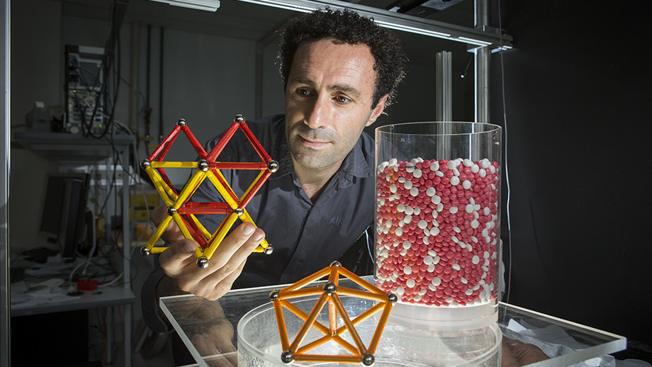 Dr Mohammad Saadatfar from the ANU Research School of Physics and Engineering