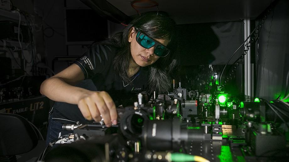 ANU PhD student Maria del Rocio Camacho-Morales