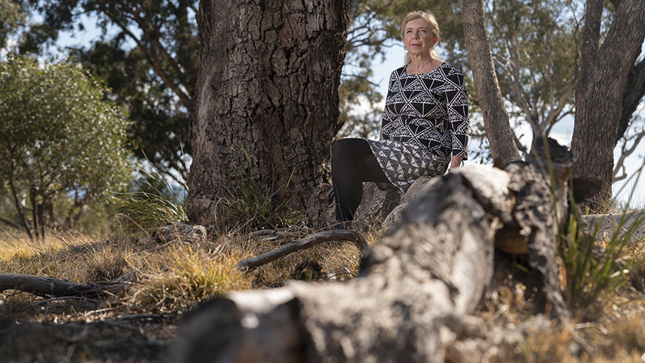 Professor Ann McGrath is the Director of the new Research Centre for Deep History. Image: Lannon Harley, ANU