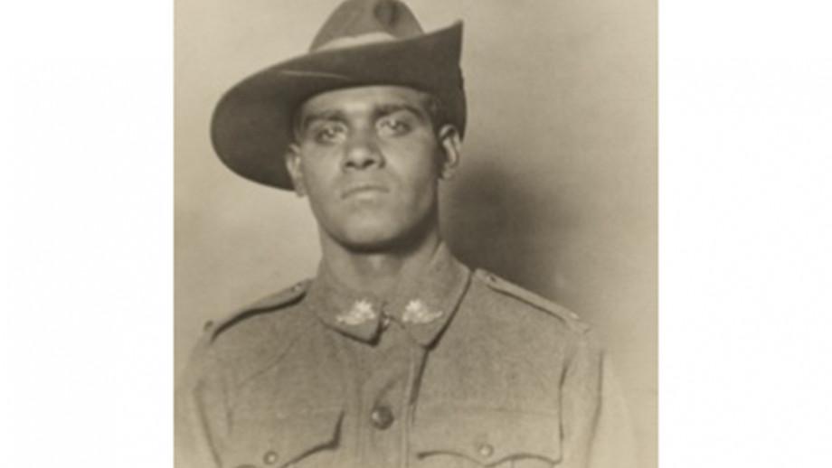 Ngarrindjeri man, Private Roland Carter. Image: Australian War Memorial