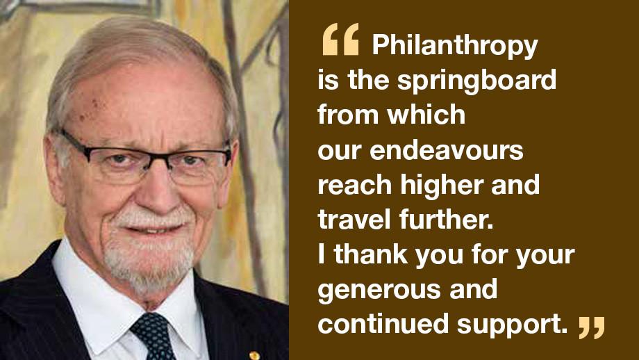 Professor the Hon Gareth Evans AC QC FASSA FAIIA, Chancellor The Australian National University