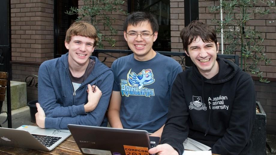 Ben Roberts, Andrew Donnellan and Daniel Axtens