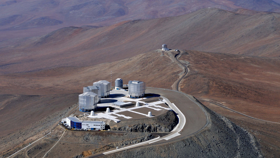 ESO's Very Large Telescope in Chile