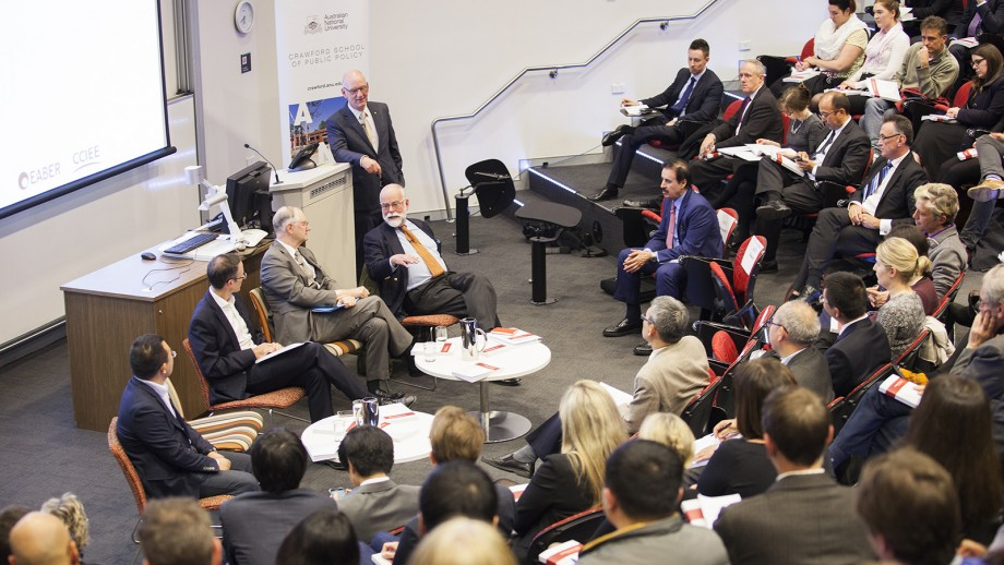 The launch of the Australia-China Joint Economic Report