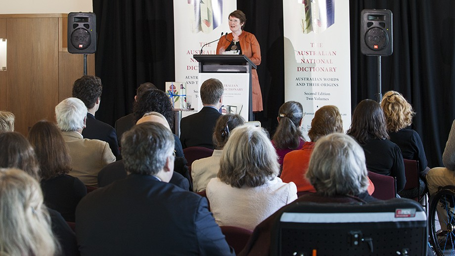Launch of the Australian National Dictionary