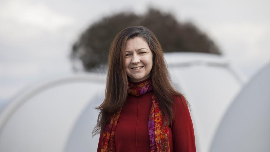 Professor Lisa Kewley. Photo: Jamie Kidston/ANU