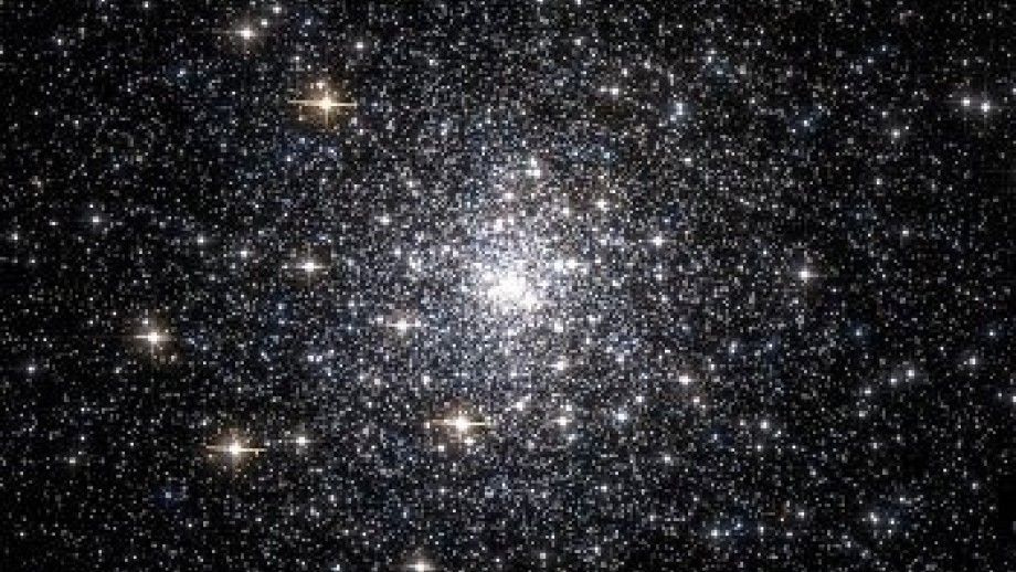 Image of stars from Hubble telescope