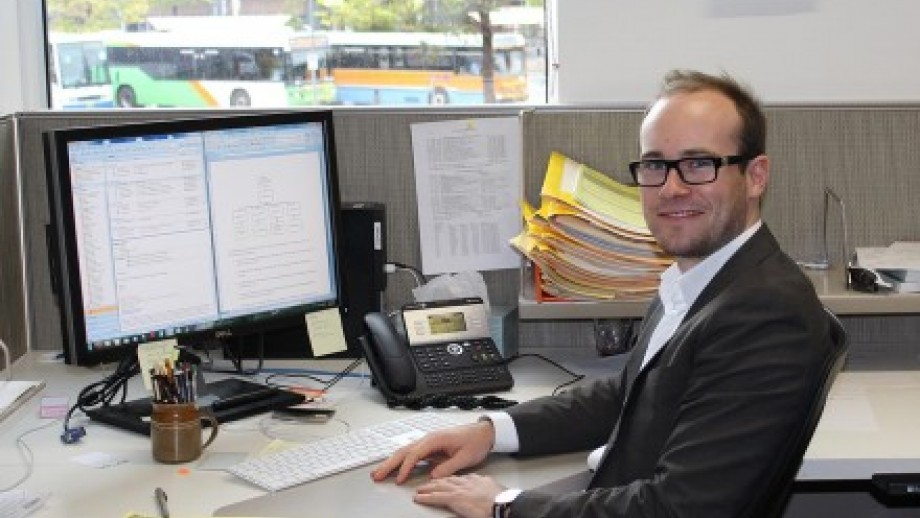 Lucas McCallum, Assistant Coordinator at the ACT Youth Law Centre