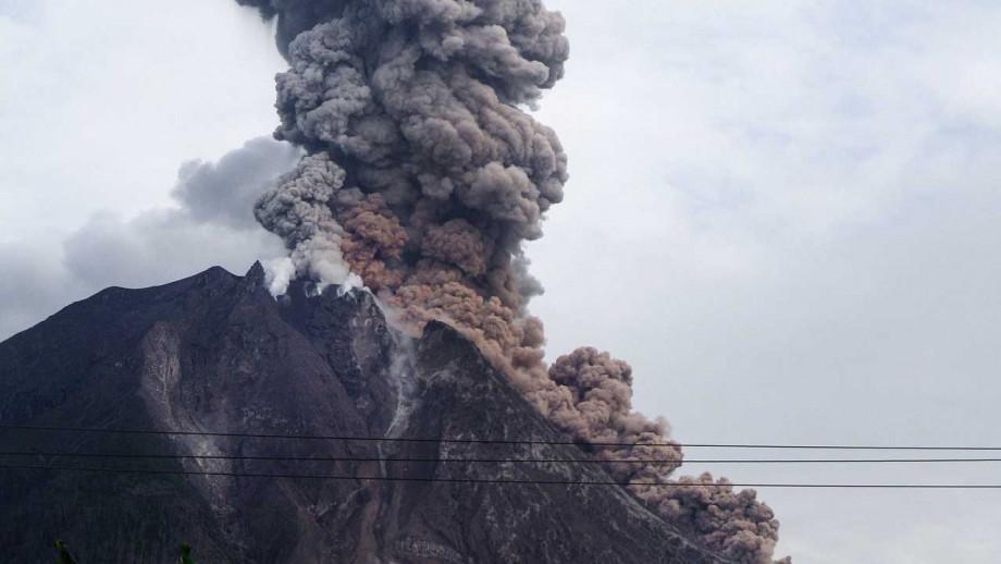 Mt Sinabung volcano