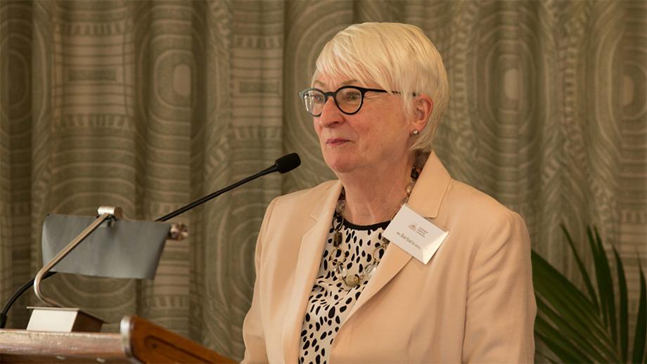 Barbara Miles, Vice-president (Advancement)