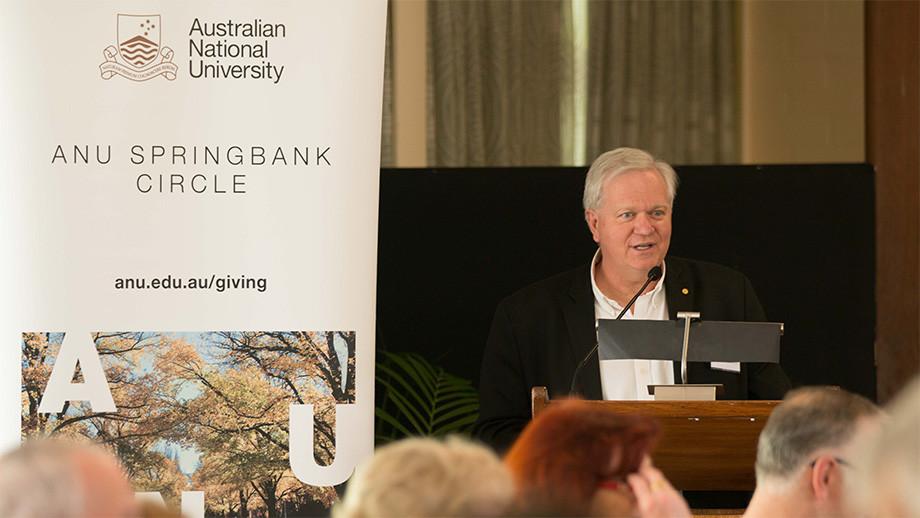 Brian Schmidt, ANU Vice-Chancellor