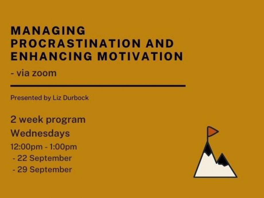 Managing Procrastination event details