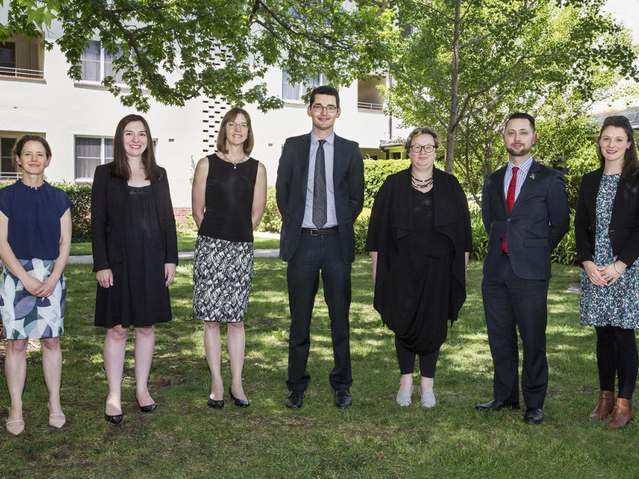 a picture of Sir Roland Wilson Foundationo 2020 PhD scholars