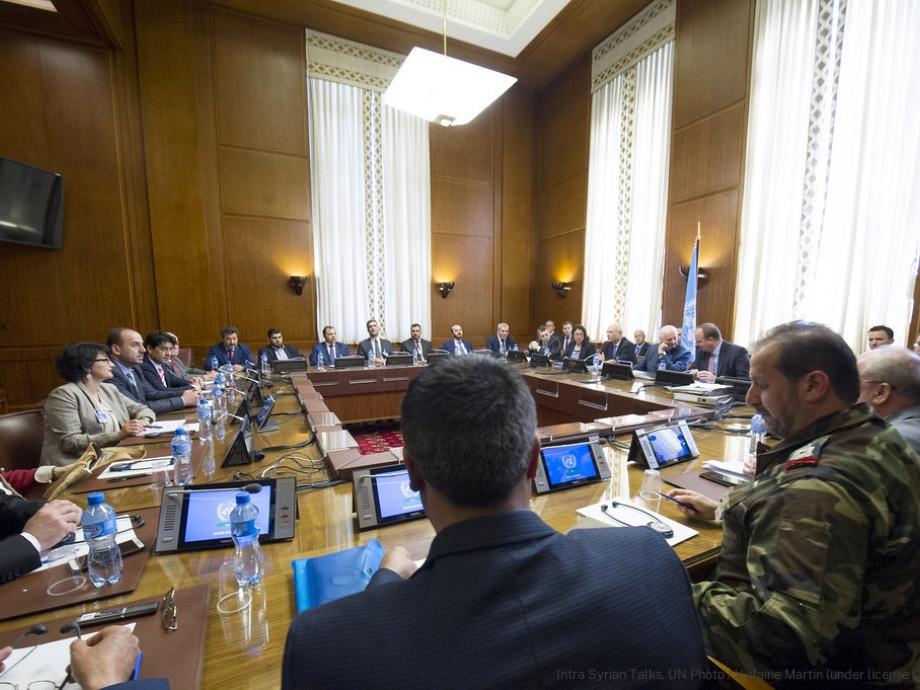 Intra-Syrian Talks, UN Photo