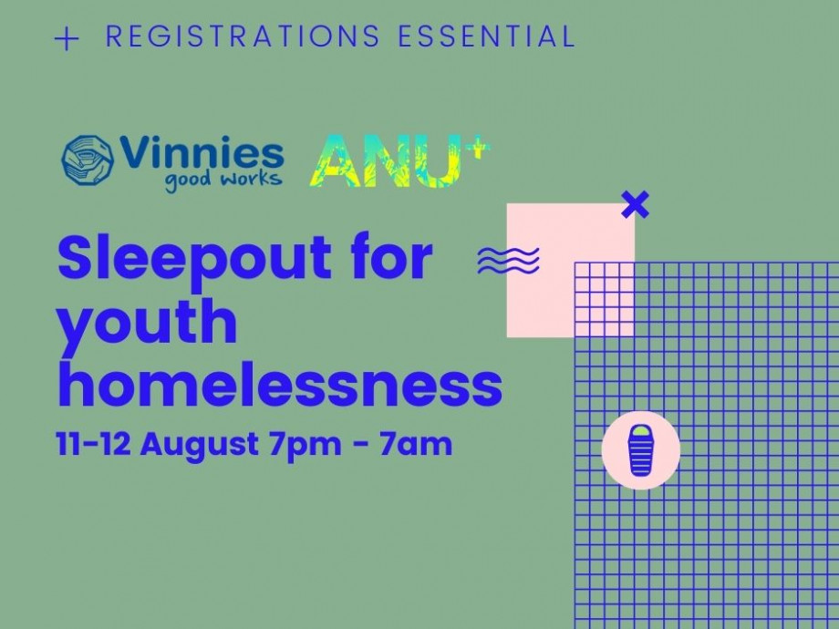 Vinnies and ANU plus graphic