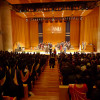 View of Llewellyn Hall during a graduation ceremony
