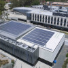 600 'sliver-cell' solar panels have been installed on the National Computational Infrastructure building at ANU. Image credit: ANU