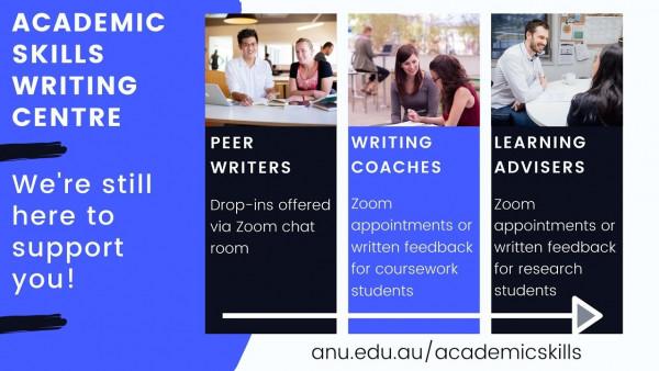 ANU Academic Skills services