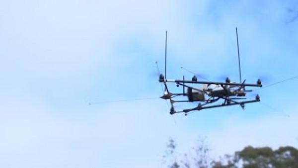 Drones track endangered wildlife in Australian reserve