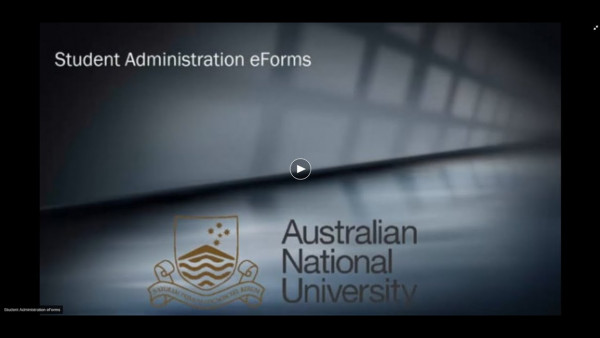 Student Administration eForms