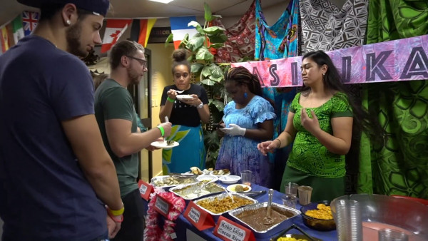 Toad Hall Tour -  Multi Cultural Festival 2018 Food Stalls and Decoration