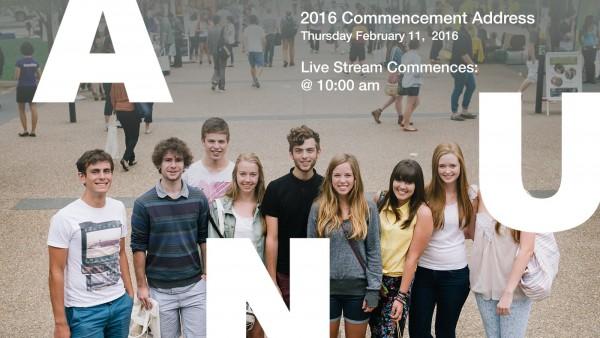 2016 Commencement Address LIVE STREAM