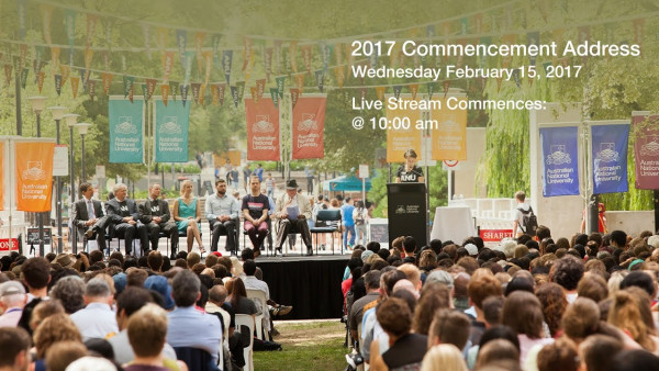 2017 ANU Commencement Address